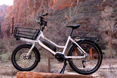 cero  compact electric cargo bike gadgetsin