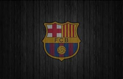 Barcelona Fc Dark Backgrounds Wood