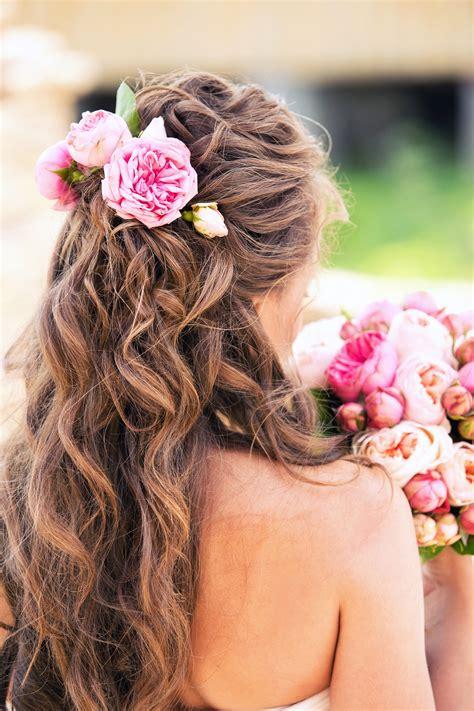 peinados de dama de honor cabello largo vivirsanoscom