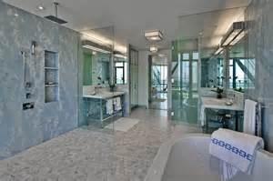 open shower bathroom design open shower design contemporary bathroom hepfer designs