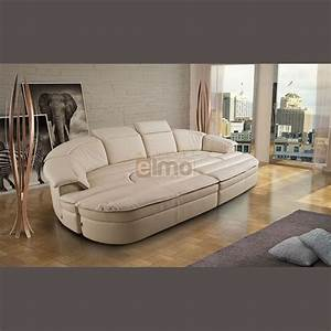 canape contemporain modulable cuir differents coloris With canape cuir design contemporain