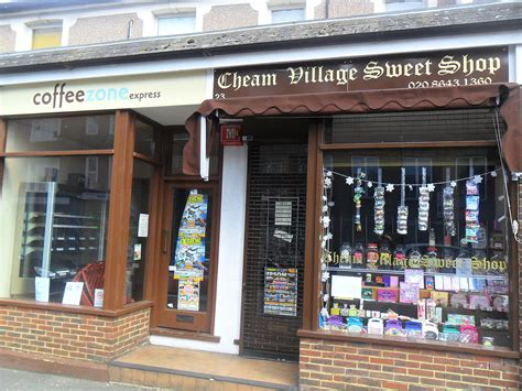 Be sure to bring an extra suitcase and book a london hotel room big enough to hold all the shopping bags full of clothes you'll bring back after a shopping. File:Cheam London Borough of Sutton - Coffee Zone and Cheam village Sweet Shop.JPG - Wikimedia ...