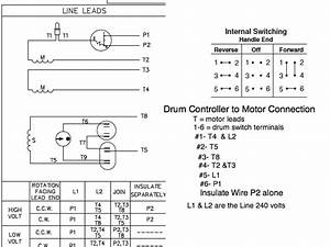 Circuit Diagram For Connecting Drum Switch To Reverse