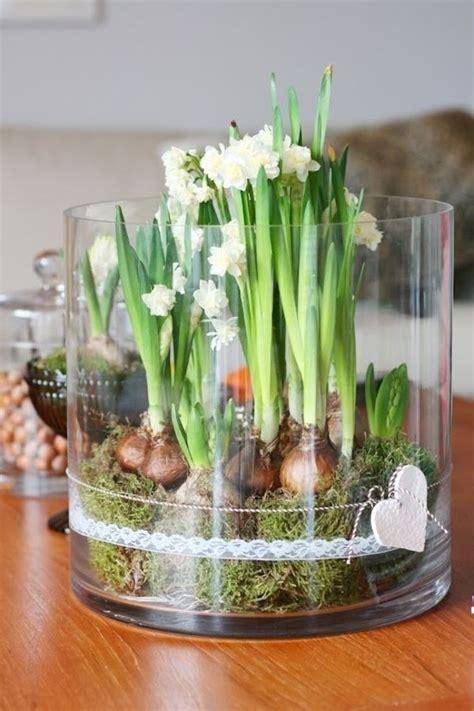 blumen dekorieren im glas tischdeko zum ostern 70 frische ideen archzine net ostern ostern tischdekoration