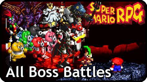 Super Mario Rpg The Legend Of The Seven Stars All Boss
