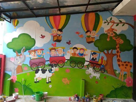 lukisan dinding lukisan tembok  kreatif