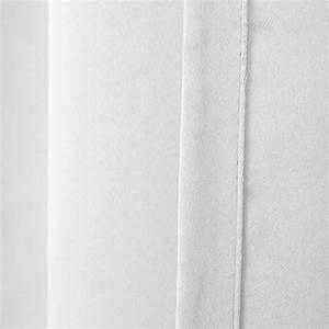 Vorhang Weiß Blickdicht : thermo vorhang kr uselband gardine blickdicht lichtdicht blackout uni weiss ca 300x245cm ~ Whattoseeinmadrid.com Haus und Dekorationen