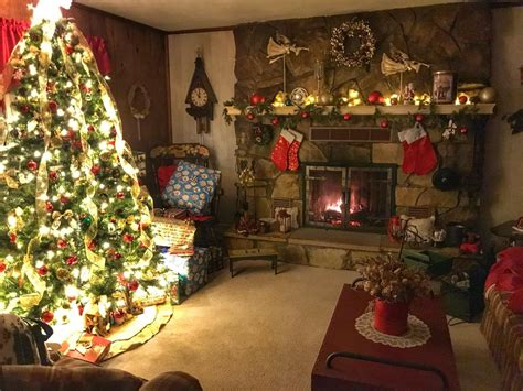parents christmas living room cozyplaces