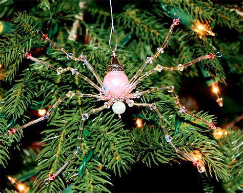 spider web christmas tradition spider tacky raccoons