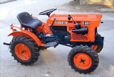 kubota garden tractor kubota b6001 search tractors made in japan