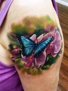 3D Butterfly Tattoos | InsigniaTattoo.com