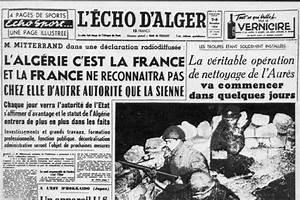 1er novembre 1954 : la Toussaint rouge les juifs dans la
