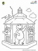 Coloring Gazebo Barney Bop Bj Pbs 2006 Printable Designlooter Games Ecoloringpage 95kb 720px Pbskids Wednesday June sketch template
