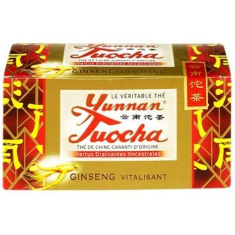 Yunnan Tuocha thé au ginseng 40g - Achat / Vente thé Thé ...