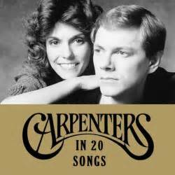 The carpenters on universal music publishing: The Carpenters In 20 Songs - uDiscover
