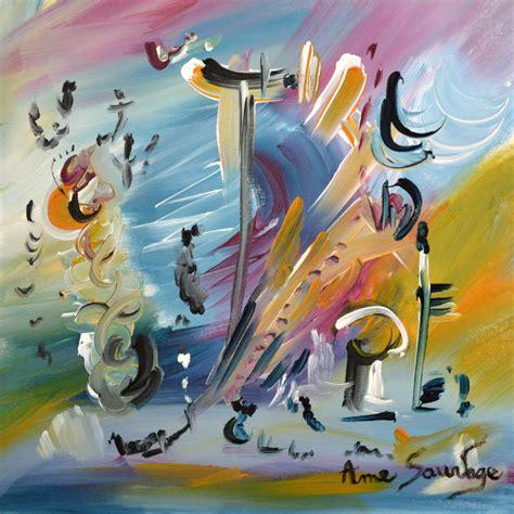 artiste peintre tableau abstrait contemporain moderne