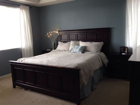 valspar blue twilight  painted  room   love