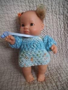 tuto tricot gratuit paola reina robe douillette pour bebe With tuto tricot robe bébé