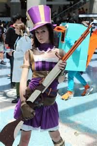 Anime Steampunk Girl Cosplay