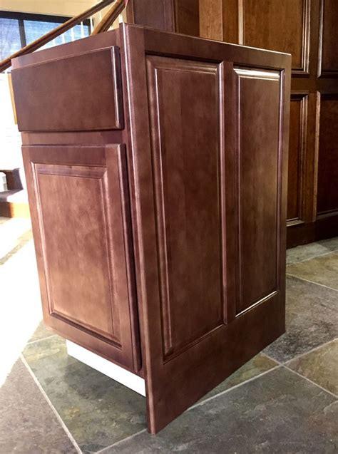 kitchen cabinet decorative panels sd epb24d dimension cabinets sundance decorative base 5224