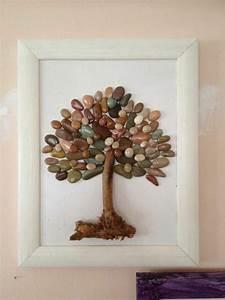 Bilder Mit Steinen Basteln : bilder mit steinen basteln eine h bsche wanddeko aus naturmaterialien basteln mit kindern ~ Orissabook.com Haus und Dekorationen