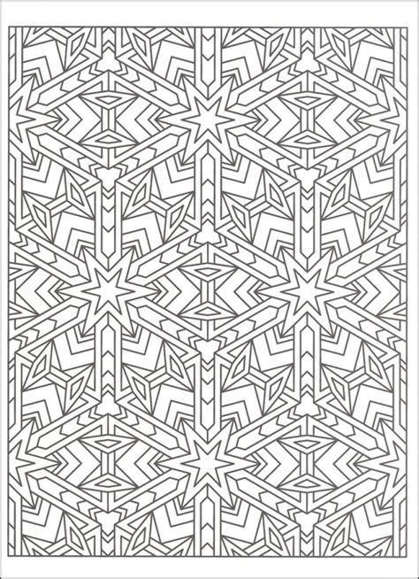 color sheets free tessellation coloring page to print out abstract