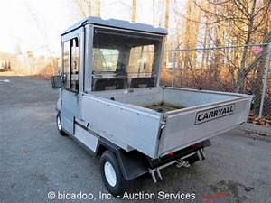 Club Car Carryall 48v Electric Cart Scooter Utility