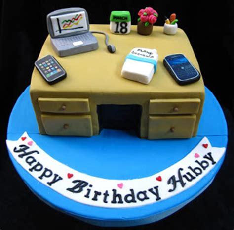 dumont cake office desk cake