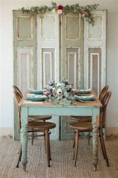 shabby chic dining room blue 26 ways to create a shabby chic dining room or area shelterness