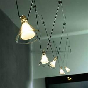 Spot Fil Tendu : un clairage d 39 ambiance contemporaine les spots ~ Premium-room.com Idées de Décoration