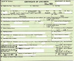 how does obamas document stack up against genuine bc With real birth certificate template