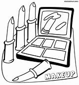 Coloring Makeup Pages Barbie Getdrawings Drawing sketch template