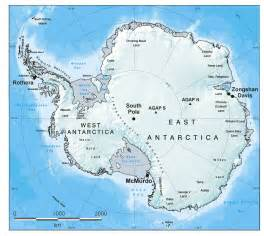 South Pole Map Antarctica