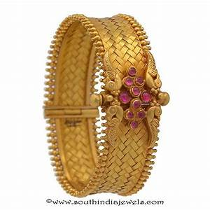 4 Antique Gold Kada Bangles from Prince Jewellery ~ South ...
