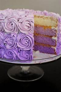 Purple Ombre Cake | Beantown Baker