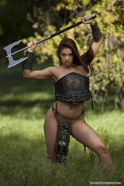 Bare Maidens Zamara Ultimate Fighter Maiden 2