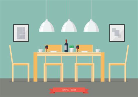 Dining Room Clipart Images by Best Dining Table Illustrations Royalty Free Vector