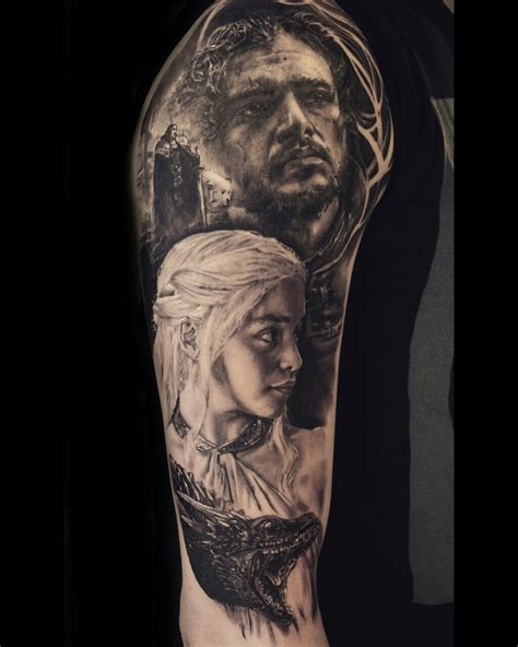 game  thrones tattoo   stefan mueller black