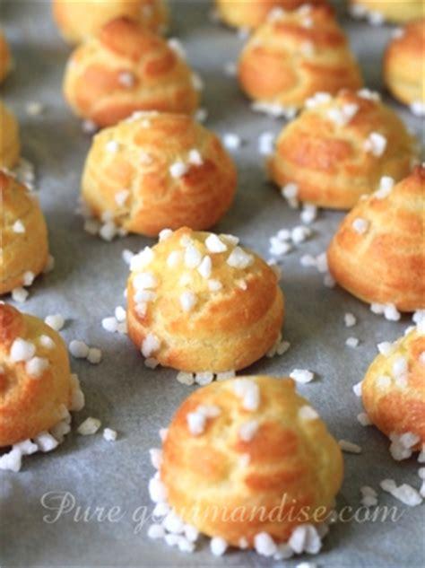 les pates a choux chouquettes au sucre gt recette