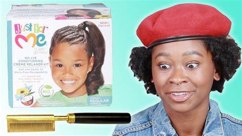Black Women React To 90s Hair Products Informus