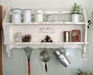 Küche Deko Wand : wandregal k che wei ~ Whattoseeinmadrid.com Haus und Dekorationen