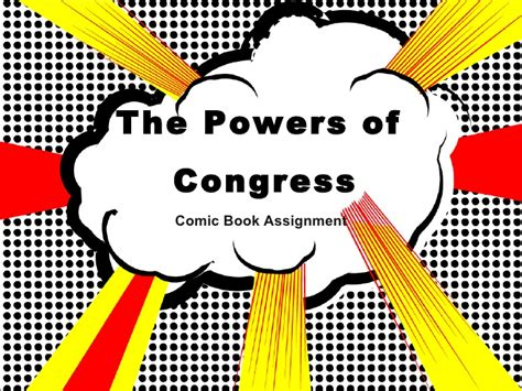 Expressed Powers Of Congress Examples