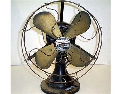antique desk fan restoration 1920c peerless 12 quot antique desk fan