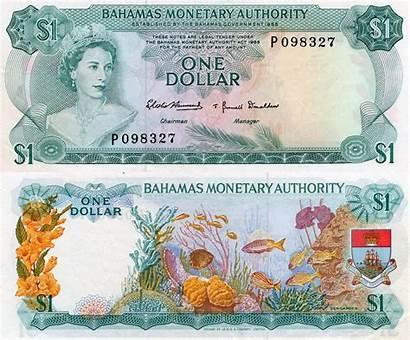 Bahamian Usd Dollar Dollars January Bahamas Currency