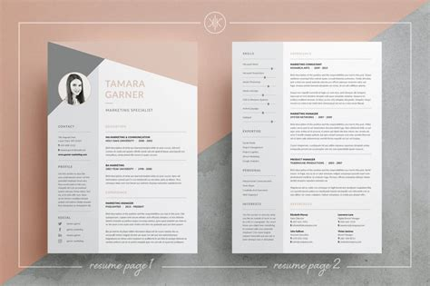 resume templates thatll   stand    crowd