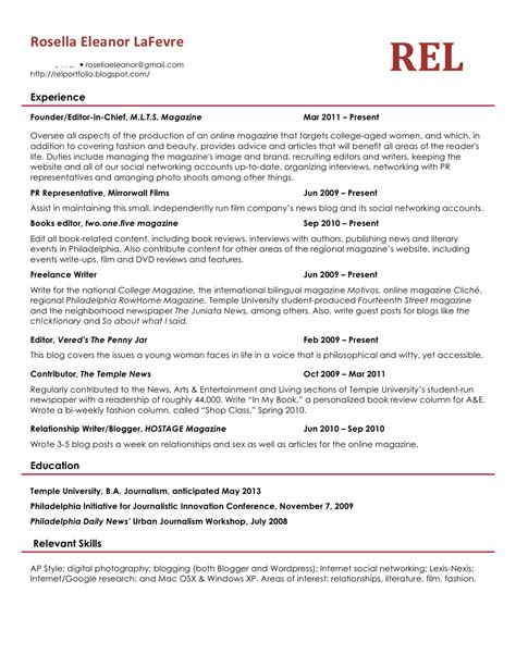 What A Resume Should Look Like In 2018 Resume 2018