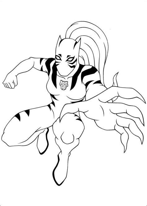 white tiger moving coloring page  printable coloring pages  kids