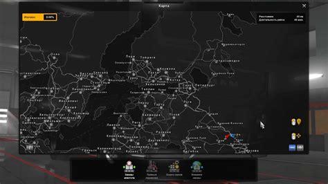 map rusmap version   map mod ets mod