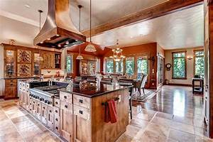 35 beautiful rustic kitchens design ideas designing idea With aesthetic elements in designing a rustic kitchen