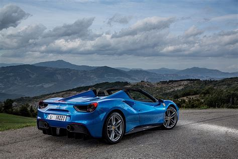 It is essentially a 488 pista with a 488 spider roof. FERRARI 488 Spider specs & photos - 2016, 2017, 2018, 2019 - autoevolution